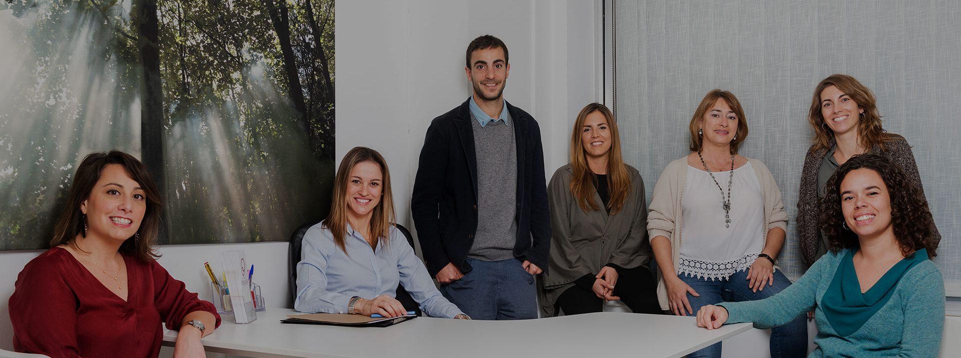 Equipo del centro de psicólogos Impulsa de Barcelona